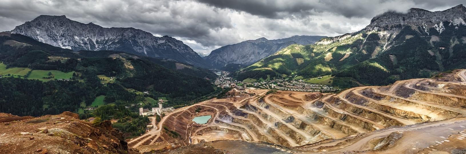Habitat destruction from diamond mining