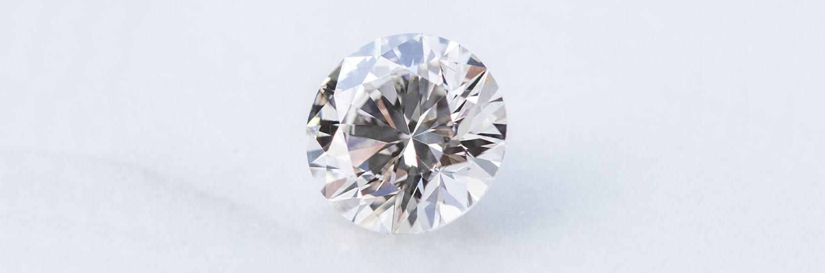 A lab grown diamond