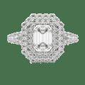 Default, Platinum, 18K White Gold,  view 0