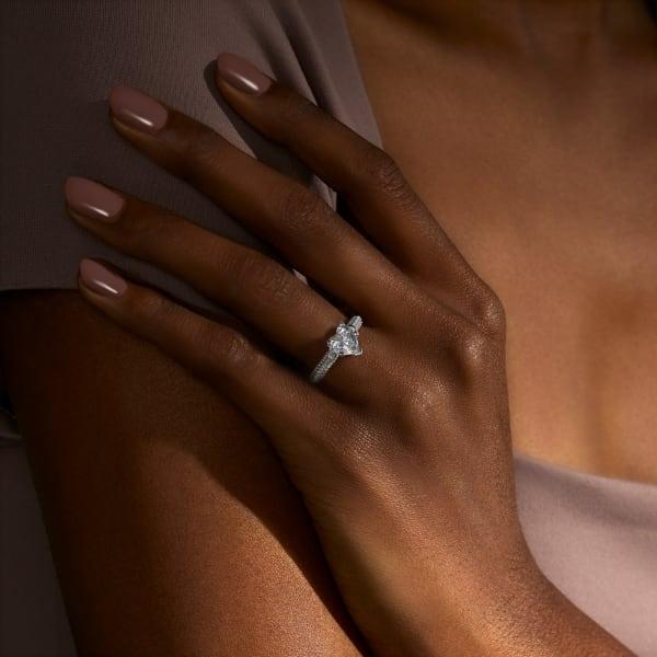18K White Gold, Platinum,
