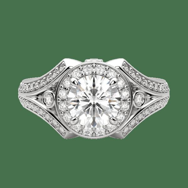 Default, 18K White Gold, Platinum,