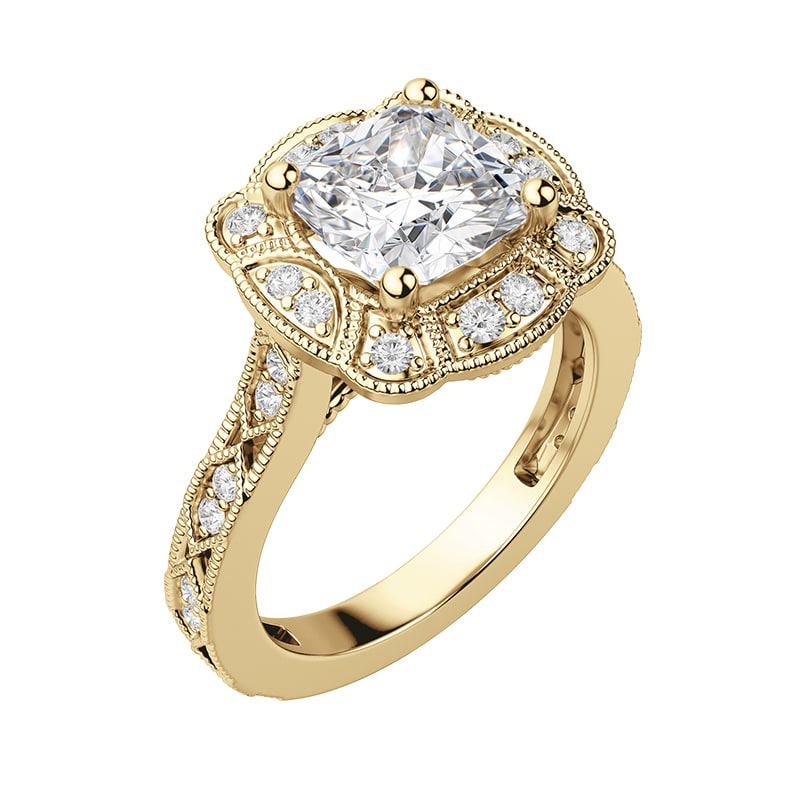 Vintage engagement ring settings stand the test of time