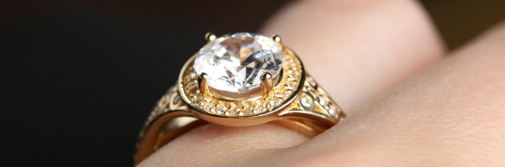 Gold is the official gemstone for the 50th anniversary