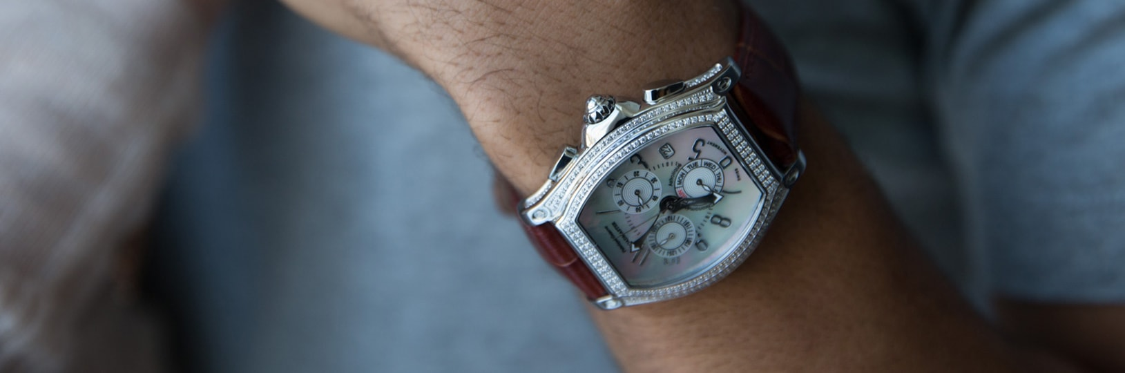 The wristwatch is a popular first anniversary gift
