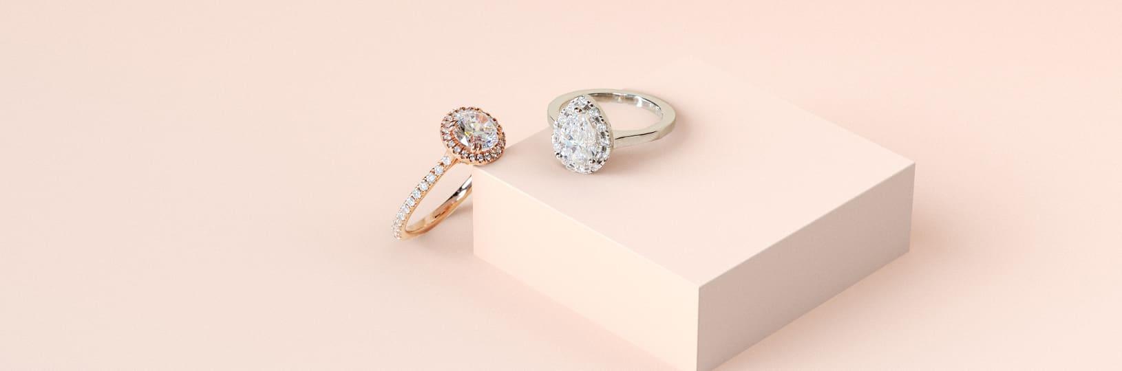 Lab diamond carat weights